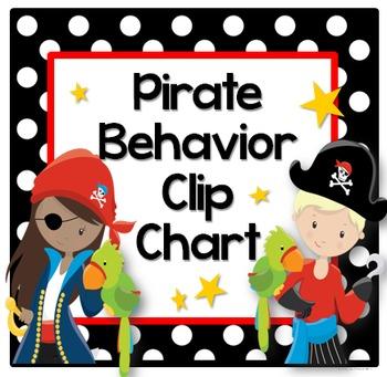 Behavior Clip Chart (Pirate)