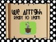 Behavior Clip Chart- Pirate sayings on Black Polka dot