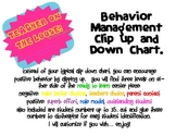 Behavior Clip Chart - Polka Dot Clip and Down Chart
