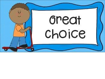 Behavior Clip Chart Primary FREE