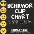 Behavior Clip Chart Printable - Emoji Themed