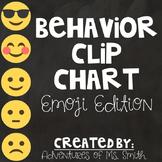 Behavior Clip Chart Printable - Emoji Themed