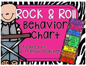 Behavior Clip Chart (Rockin' Behavior)
