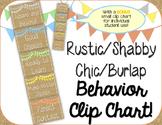 Behavior Clip Chart ~Rustic Themed~ Classroom Management