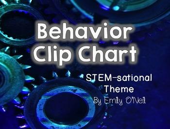 Behavior Clip Chart (STEM-sational Theme)