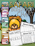 Behavior Clip Chart Jungle Safari Theme