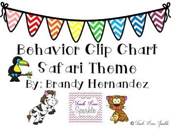 Behavior Clip Chart Safari Theme