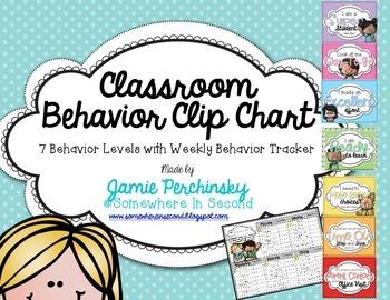 Behavior Clip Chart Set