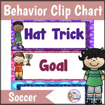 Behavior Clip Chart Soccer