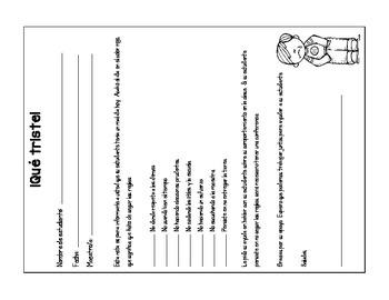 Behavior Clip Chart (Spanish)