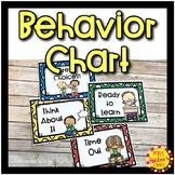 Behavior Clip Chart | Special Education Classroom Resource