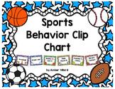 Behavior Clip Chart {Sports}