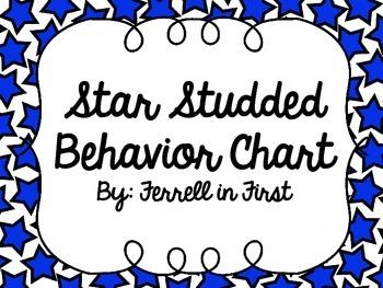 Behavior Clip Chart: Star Theme