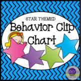 Behavior Clip Chart - Stars Theme