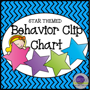 Behavior Clip Chart - Stars Theme