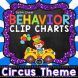 Behavior Clip Chart & Sticker Charts - Circus Theme