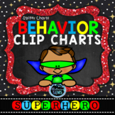 Superhero Behavior Clip Chart & Sticker Charts