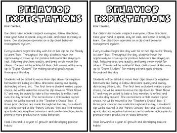 Behavior Clip Chart - Succulent