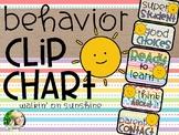 Behavior Clip Chart - Sunshine Brights