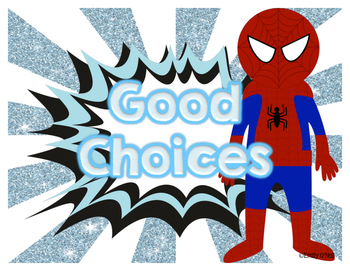 Behavior Clip Chart (Superhero Theme)