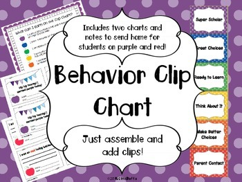 Behavior Clip Chart System