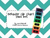 Behavior Clip Chart System {Black Line}