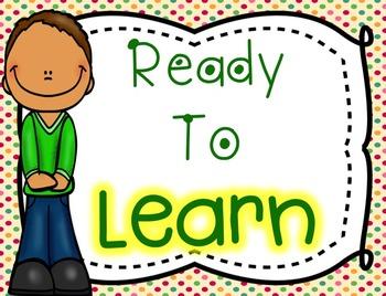 Behavior Clip Chart System Pack - Kids Theme