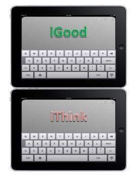 Behavior Clipchart - Technology Theme - iPad