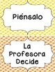 Behavior Clip Chart - Twisted Plaid {SPANISH}