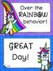 Behavior Clip Chart-Unicorn Themed