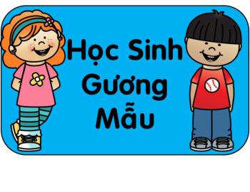 Behavior Clip Chart *Vietnamese Edition*