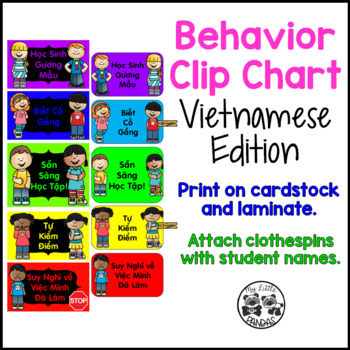 Behavior Clip Chart *Vietnamese Edition*