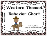 Behavior Clip Chart- Western Theme
