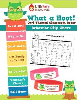 Behavior Clip Chart with Calendars and Brag Bracelets