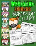Behavior Clip Chart Woodland Animals Forest Camping Theme