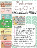 Behavior Clip Chart Woodland Tribal