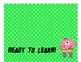 Behavior Clip Chart and Log - Monster Theme