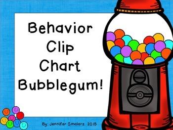 Behavior Clip Chart: bubblegum theme
