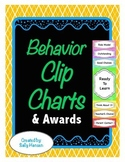 Behavior Clip Charts for Classroom Management - 7 Background Choices