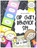 Behavior Clip Chart for Classroom Mangement