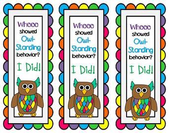 Behavior Clip Chart for Owl-Standing Behavior