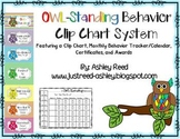 Behavior Clip Chart for Owl-Standing Behavior