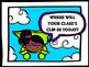 Behavior Clip Chart for Specials Teachers Super Hero Theme