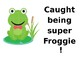 Behavior Clip Chart for Wall - FROGS