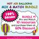 Behavior Clip Chart in Hot Air Balloons Theme - 100% Editble