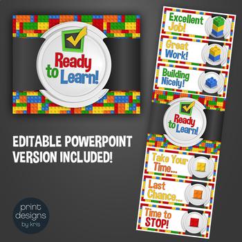 Behavior Clip Chart in LEGO Theme