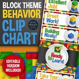 Behavior Clip Chart in Block Style Theme