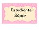 Behavior Clip Chart (Spanish)- Gráfica de Comportamiento del Estudiante (español