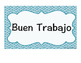 Behavior Clip Chart (Spanish)- Gráfica de Comportamiento d