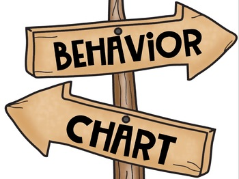 Behavior Clip Chart in a Camping Classroom Decor Theme